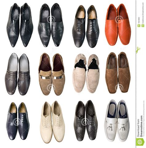 collection of shoes stock photography image 7904882