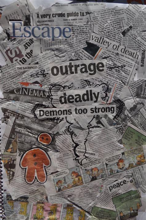 Make News Paper - newspaper collage by courtnii on deviantart