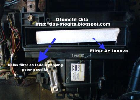 Filter Kabin Udara Cabin Ac Mobil Toyota Kijang Innova Fortuner tips dan cara mengatasi ac kijang innova kurang dingin
