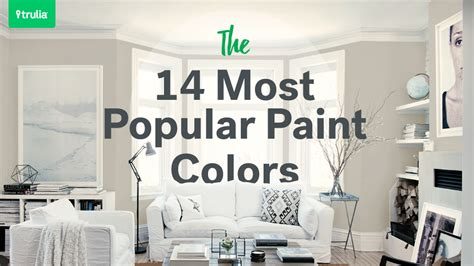 most popular wall colors 14 popular paint colors for small rooms life at home