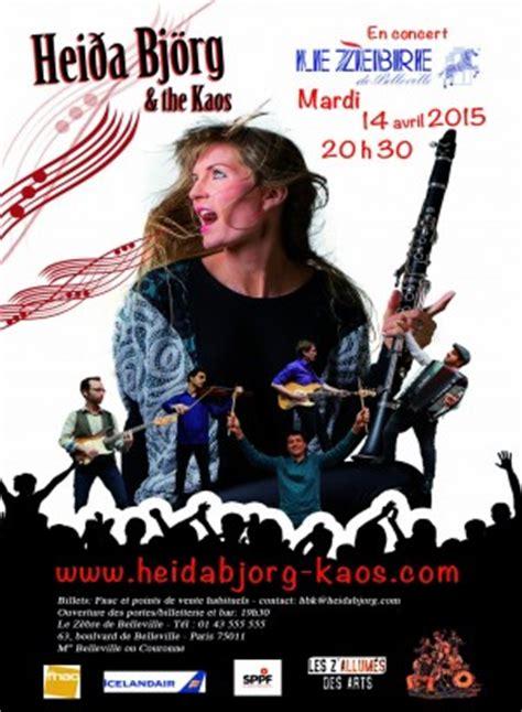 Kaos Concert islande voir le sujet concert hei 240 a bj 246 rg