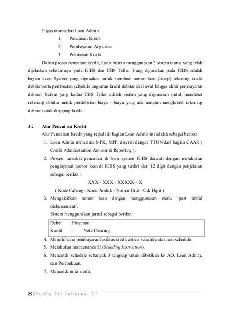 contoh surat kredit rumah wisata dan info sumbar
