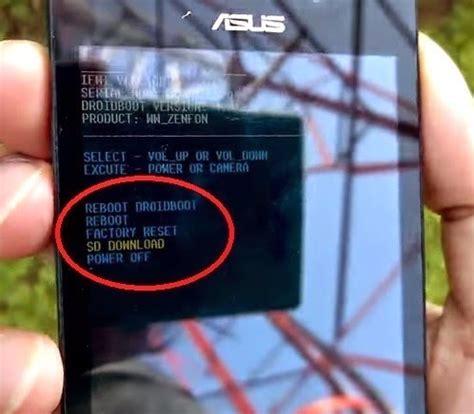 tutorial flash asus zenfone 4 mengatasi bootloop asus zenfone 4 dengan flashing tanpa pc