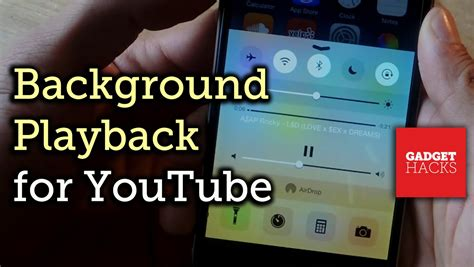 listen  youtube   background  iphone ipad
