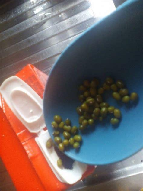 Satu Kotak Teh Hijau siap wacana 187 masukkan kacang hijau ke kotak bekas minuman hasilnya wow