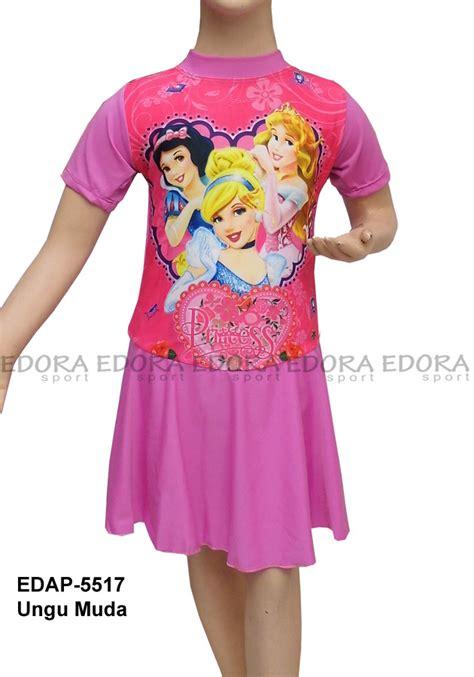 Baju Berwarna Ungu baju renang diving rok karakter edap 5517 ungu muda distributor dan toko jual baju renang