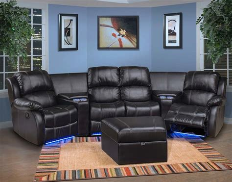 theater sectional sofas theater sectional sofas home theater media