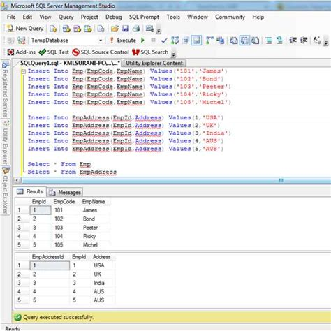 Sql Server Common Table Expression common table expression in sql server