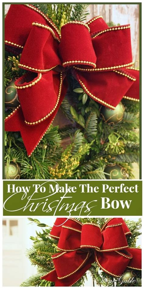 how to make the perfect christmas bow a bow wreath bows the and bows