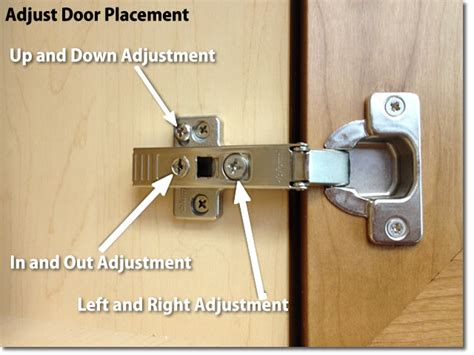 adjust kitchen cabinet hinges how to adjust hinges on kitchen cabinets image how to