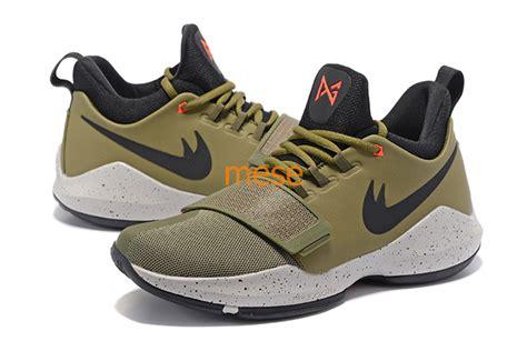 Sepatu Basket Paul George 1 Pg 1 Olive Gold new paul george pg1 i mens basketball shoes zoom pg 1 the