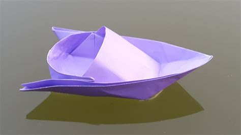 origami speed boat how to make a paper boat origami speed boat making