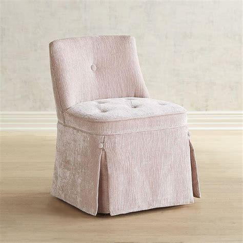 tufted skirted vanity stool hillsdale clover vanity stool wayfair