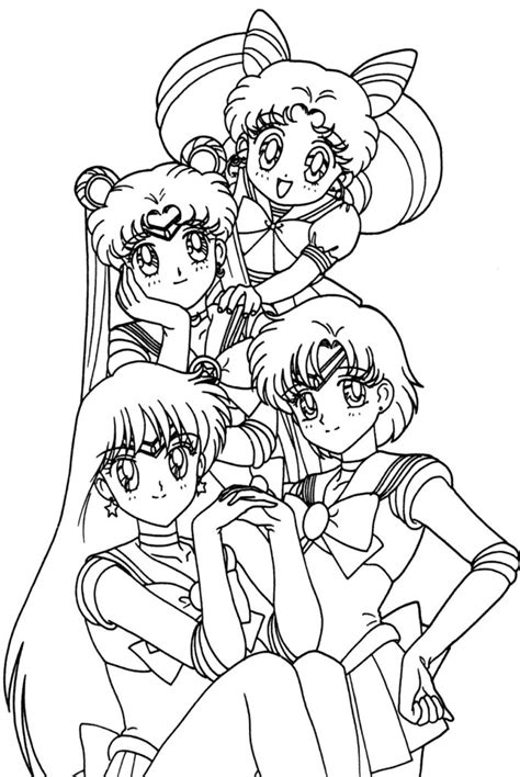 Printable Anime Coloring Pages Coloring Me Coloring Picture Of A