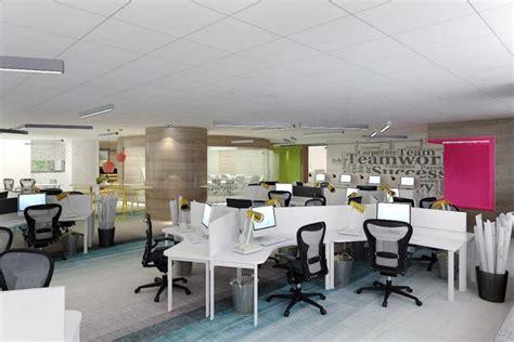 singapore office interior design at aig building