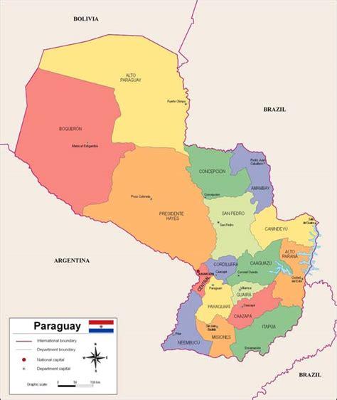 Imagenes Satelitales Paraguay | mapa de paraguay online world map