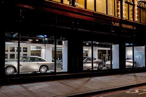 aston martin dealership aston martin opens mini dealership in harrods autoevolution