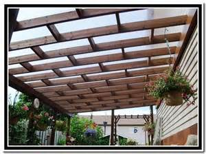 Clear Pergola Roofing by Clear Roof Panels For Pergola Kirkland Home Outdoors
