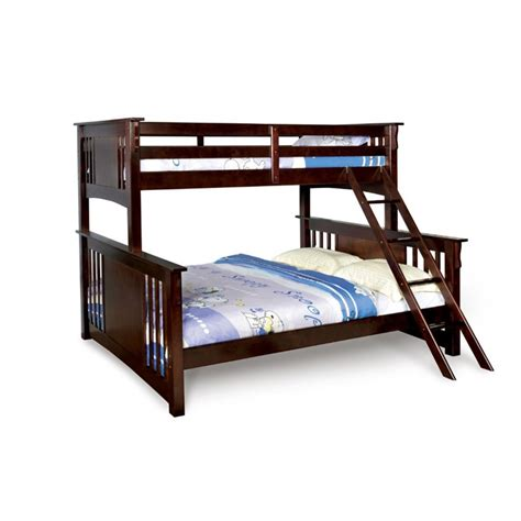 xl twin bunk beds furniture of america roderick twin xl over queen bunk bed