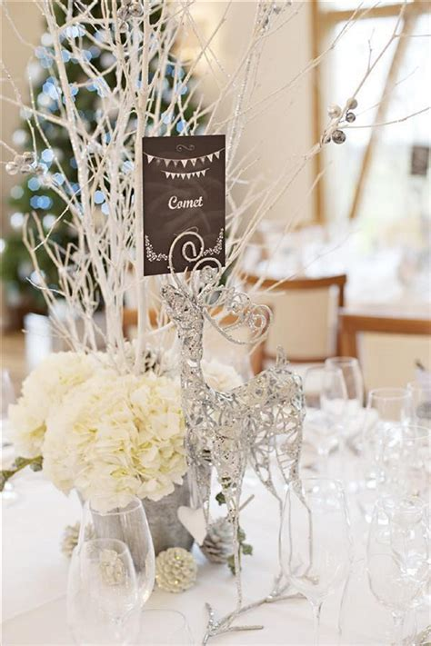 Winter Wedding Centerpieces Ideas,Winter wonderland