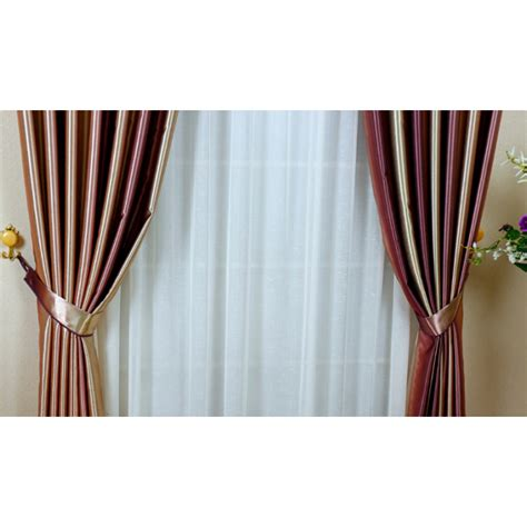 curtains colorful colorful vertical striped print polyester insulated