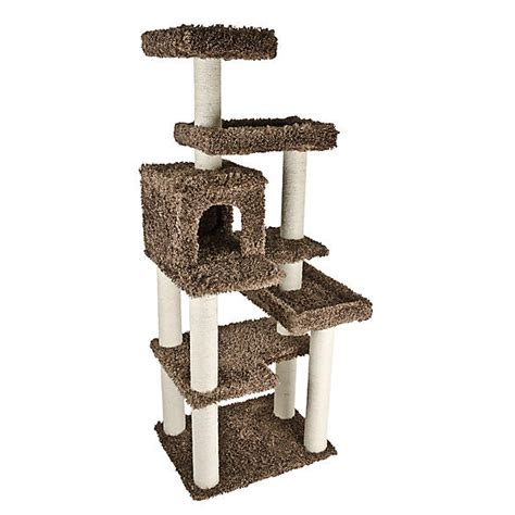 whisker city deluxe playground cat tree cat furniture