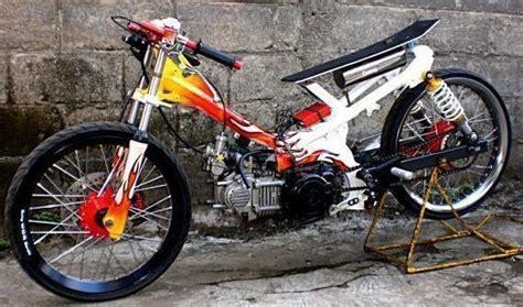 modifikasi motor honda astrea grand road race drag modif road race