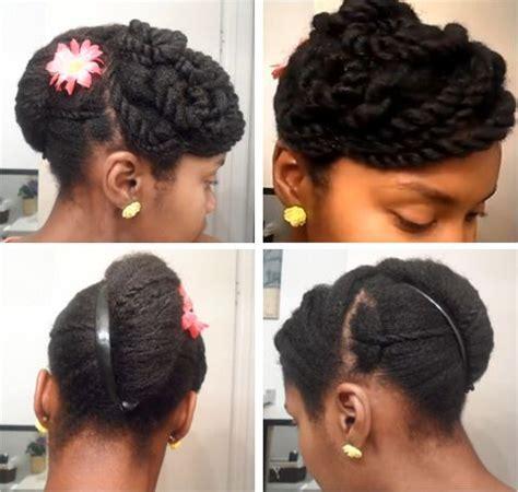 styles with banana clip cute banana clip updo on 4c natural hair retro hair