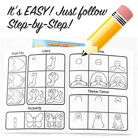 Drawing 101 Book by 2 Book Set Learn How To Draw 101 Step By Step Series
