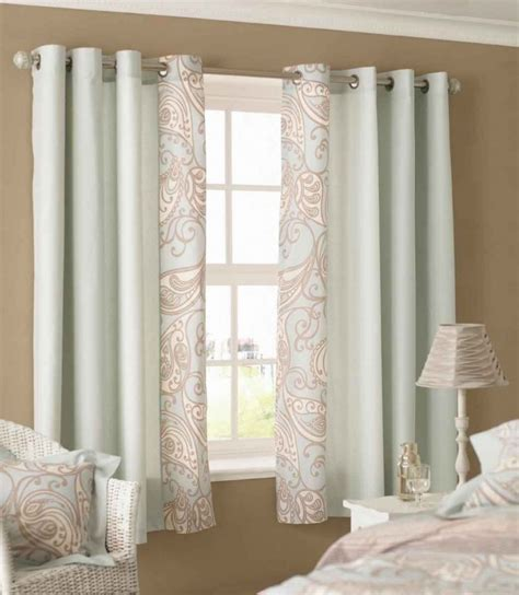 White Curtains With Brown Pattern Curtain Designs For Windows Green Pattern Curtains Brown Wall White Rattan Chair Kvriver