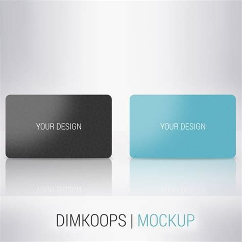 plastic credit card business card mockup psd template plastic business card mockup psd image collections card
