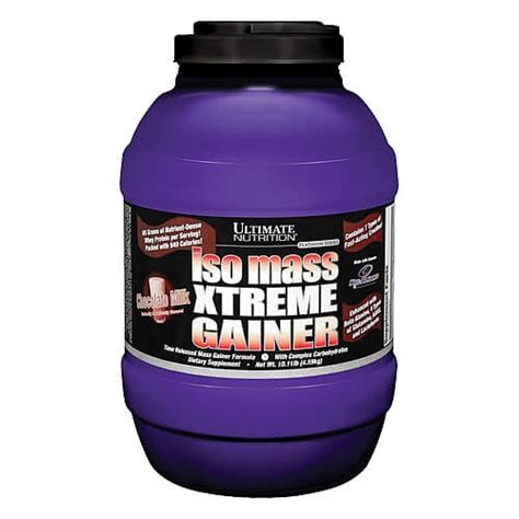 Xtreme Gainer Iso Mass Xtreme Gainer Review Ultimate Nutrition