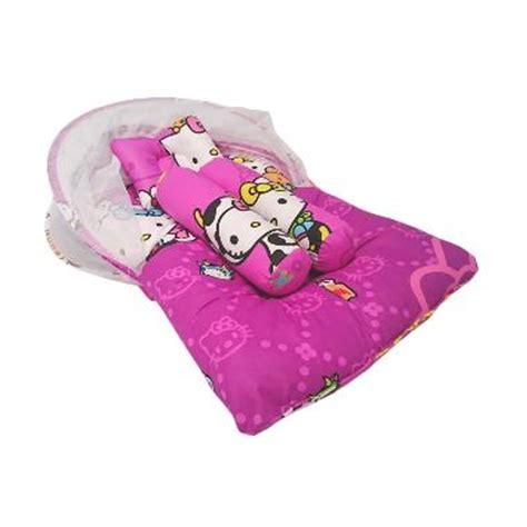 Matras Bayi Kelambu Hello jual amatababy hello milk matras lipat kelambu purple harga kualitas terjamin