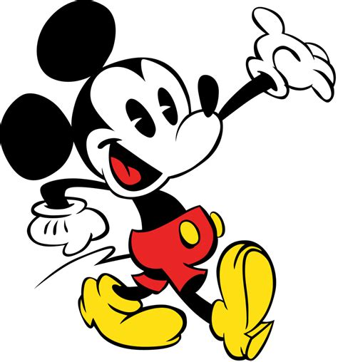 mickey mouse mickey mouse vector png www pixshark images