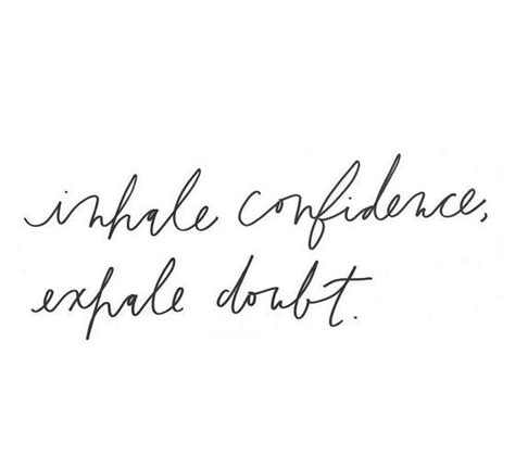 confidence tattoo best 25 inhale exhale ideas on