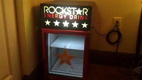 energy drink mini fridge rockstar energy drink mini fridge