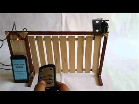 Alat Pemberi Makan Ikan Otomatis Berbasis Arduino prototipe jemuran otomatis menggunakan stepper berbasis