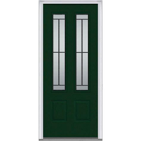 Mmi Door 32 In X 80 In Madison Right Hand 2 3 4 Lite 2 32 X 72 Exterior Door
