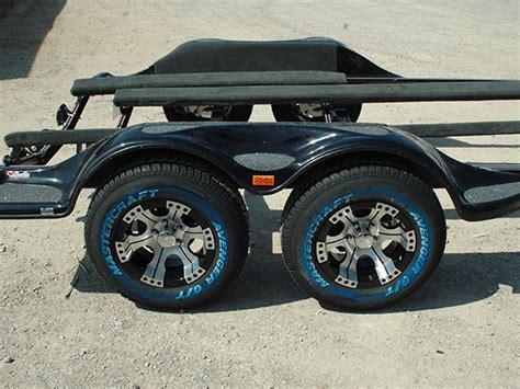 bass boat trailer wheels tandem axle fender