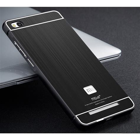 Iphone Samsung Xiaomi Redmi Marshmello Cover Casing msvii xiaomi redmi 3 metal frame back cover protective