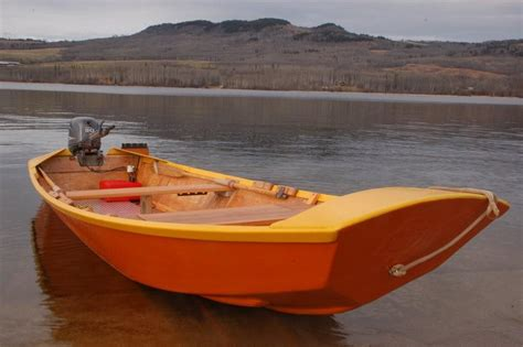 sled boat wood sled wooden boat people