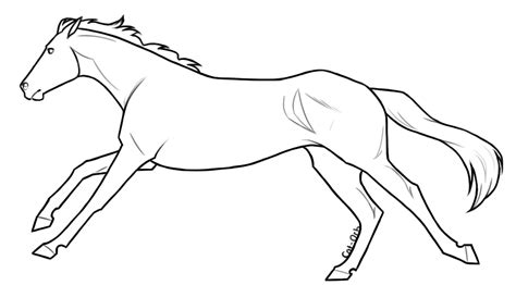 coloring pages of vanoss horse template shearkin deviantart pin standing horse