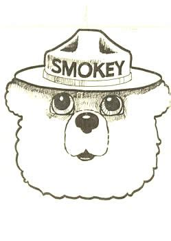 how to draw smokey the bear