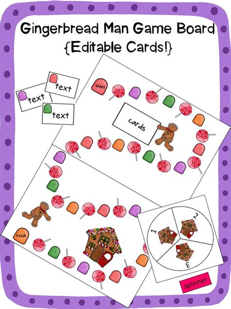 gingerbread man board game printable 17 best images about 5 minute activities on pinterest i