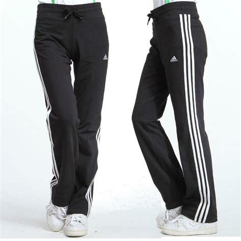 adidas ess  kn womens tracksuit bottoms uk    black