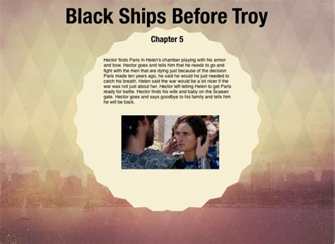 themes in black ships before troy black ships before troy screen 10 on flowvella