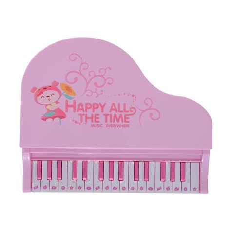 We175 Electronic Piano Bag Pink qaba 32 key baby grand digital piano with microphone pink clearance