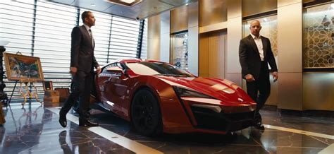 Fast Furious 155 Lykan Hypersport ultra lykan hypersport to feature in furious 7