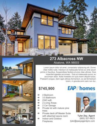 realtor brochure examples inspirational free sample flyers with free