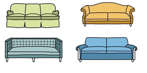sofa styles  types  couches